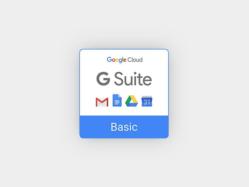 20% de réduction pour G Suite Basic